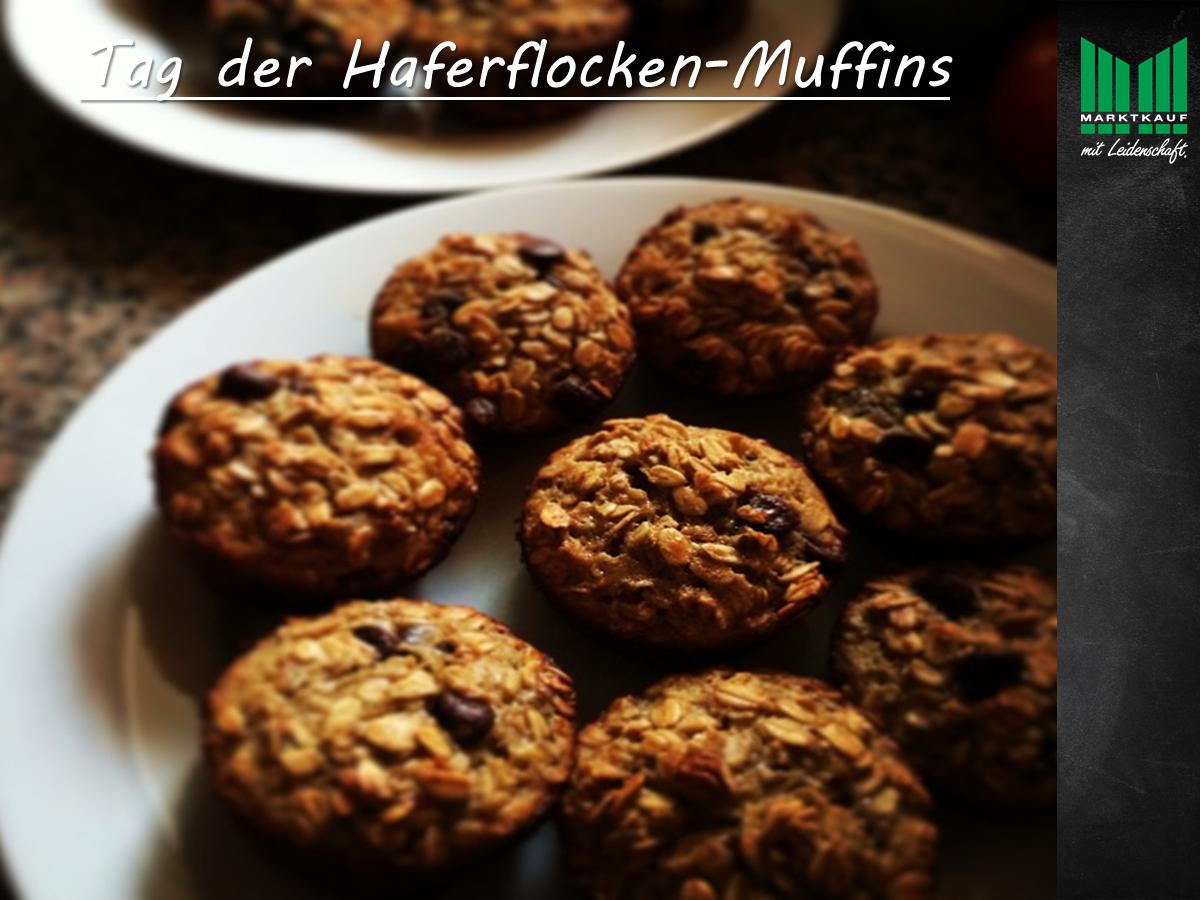 Tag der Haferflocken-Muffins!